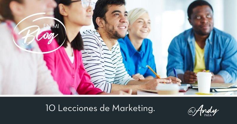 10 Lecciones de Marketing