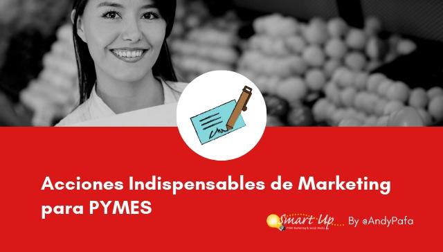 8 Acciones Indispensables de Marketing para PYMES