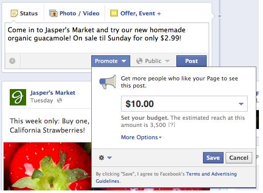 Cómo funcionan los Post Promocionales en Facebook