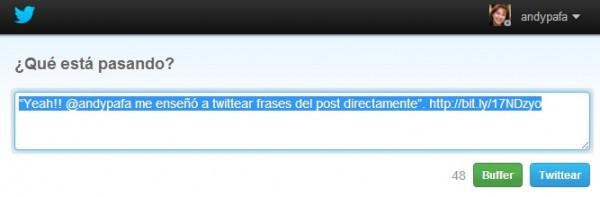 Twittear Frase