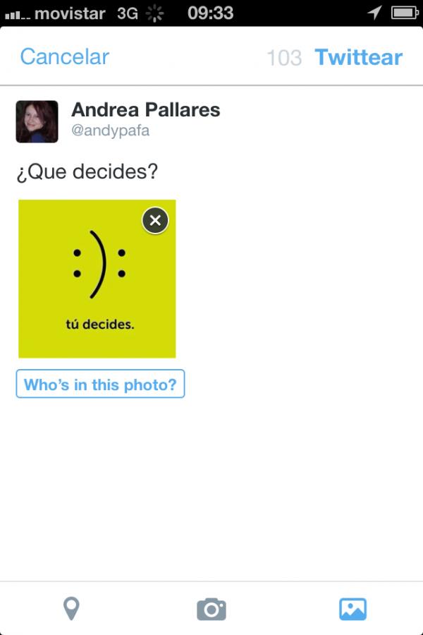 Nueva App Twitter 2