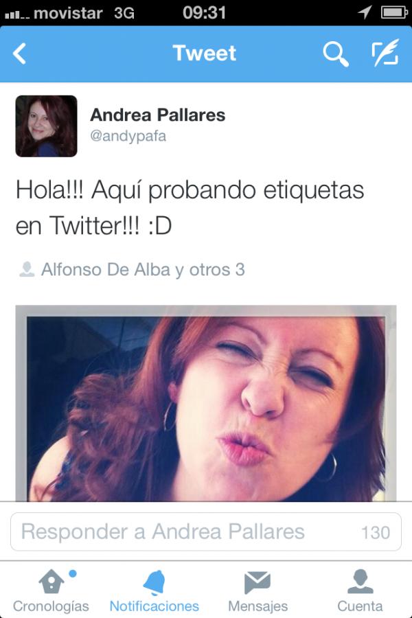 Nueva App Twitter 3