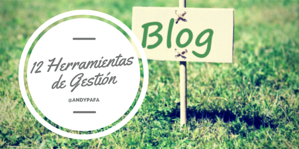Herramientas Gestión Blog