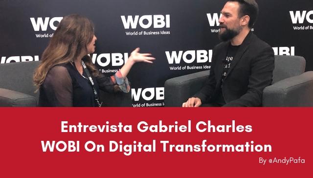 Transformación digital centrada en las personas entrevista con Gabriel Charles