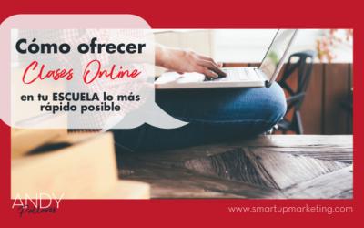 Cómo implementar clases online en tu colegio