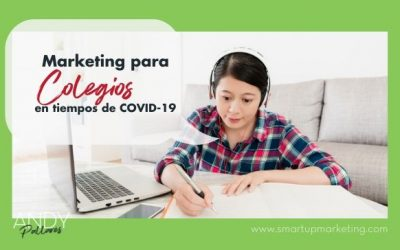 Marketing para Colegios en tiempos de COVID-19